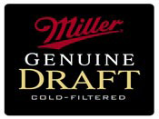 Miller Genuine Draft beer logo