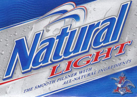 Natural Light beer logo